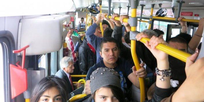 Toplu taşımada korona en kolay böyle bulaşıyor!