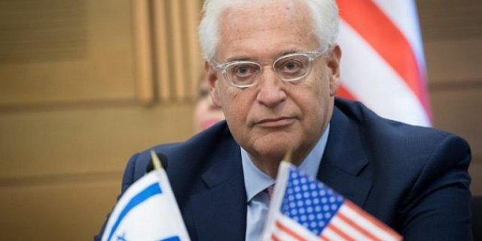 Friedman'dan flaş Filistin çıkışı