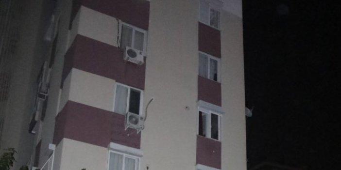 """Eşiyle tartıştı sonra 5. kattan atladı! """"Makbule neden yaptın"""""""
