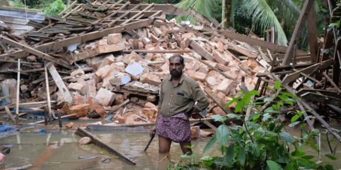 Hindistan'da şiddetli yağış 2 can aldı