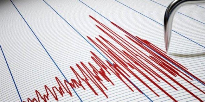 Antalya açıklarında 3.7'lik deprem korkuttu!