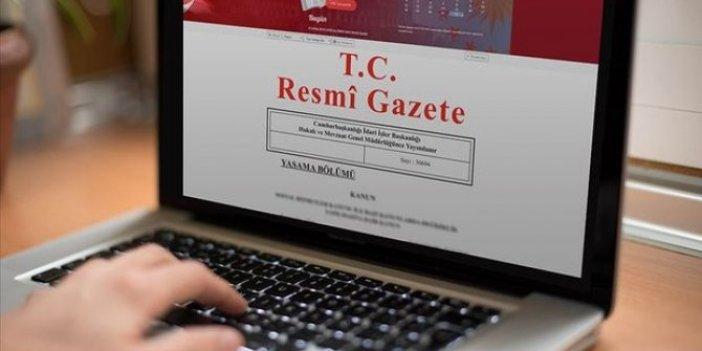 Üç bakanlığa ilişkin atama kararları Resmi Gazete'de