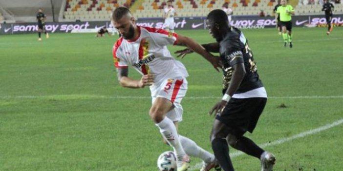 Malatyaspor ve Göztepe puanları paylaştı