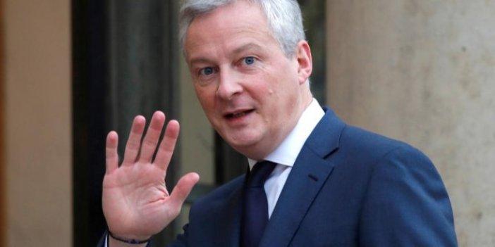 Fransa ekonomi bakanına korona şoku