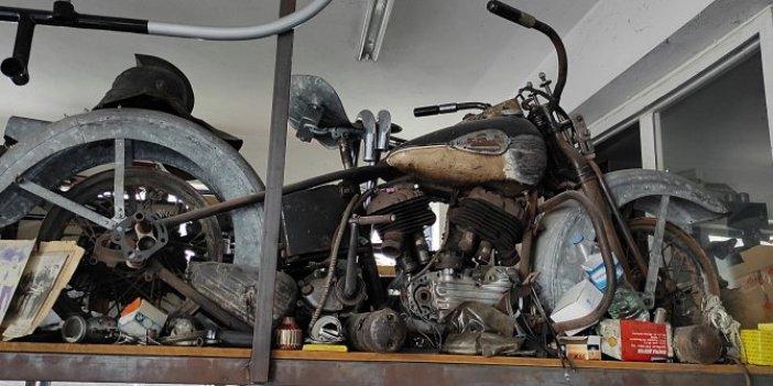 İsmet İnönü'nün motosikleti canlanacak