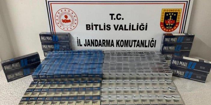 Bitlis'te ele geçirildi! Tam 865 tane