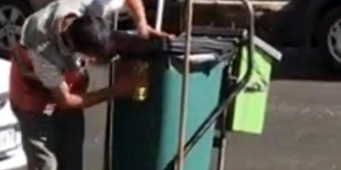 Temizlik işçisinin özverisi herkesi ağlattı: Helal olsun sana