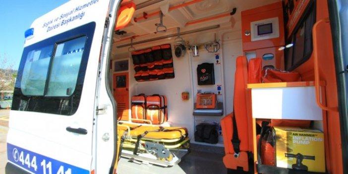 Ankara'da ambulans personeli sağlık çalışanları isyan etti: Kim bunu yapanlar. Bu iddia sağlık sektörünü karıştırır