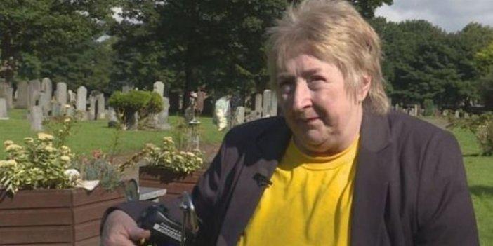 Oğlunun mezarını açan kadın şok oldu