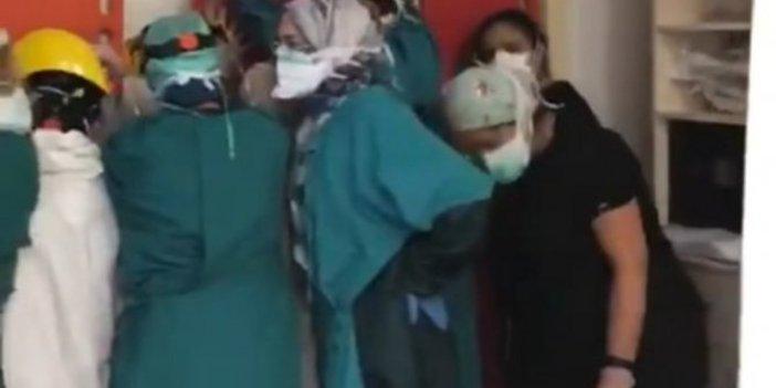 Sağlıkçılara şiddet sonrası tekrar gündeme geldi, sağlık çalışanları isyan etti, akşam 9'da alkışlamak yetmiyor