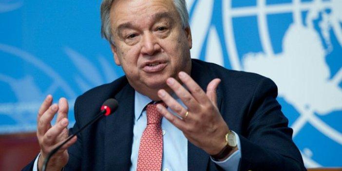 Guterres'ten dünya liderlerine çağrı