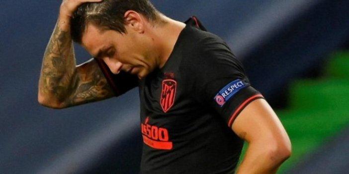 Atletico Madridli Gimenez korona virüse yakalandı