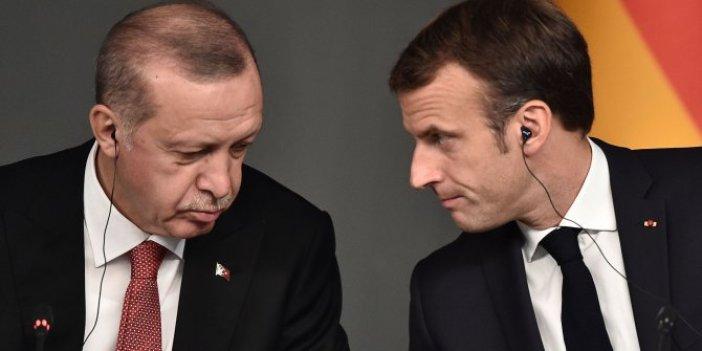 Cumhurbaşkanı Erdoğan ve Macron arasında kritik görüşme