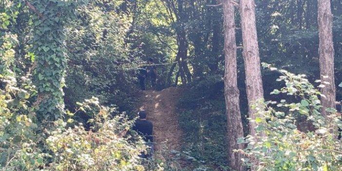 Orman'da esrarengiz kadın cesedi