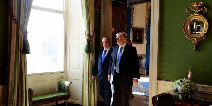 Netanyahu'nun ailesi  tüm kirli çamaşırlarını Beyaz Saray'da döktü