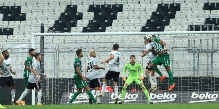 Beşiktaş penaltılar sonunda turnuvaya veda etti