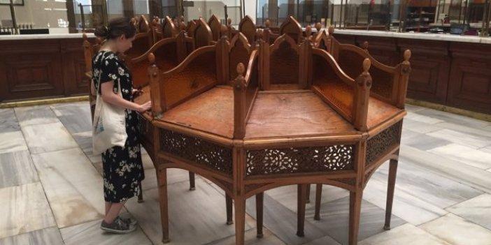 Büyük Postane'nin masası yıllardır ortada yok. Trilyonluk antika masa nerede. PTT açıkladı Masanın selamı var çok iyi durumda
