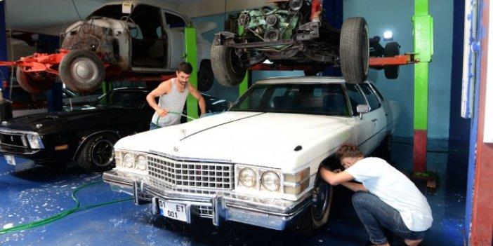 Bankacılığı bırakıp tamirci oldu! Klasik hurda araçları hayata döndürüyor