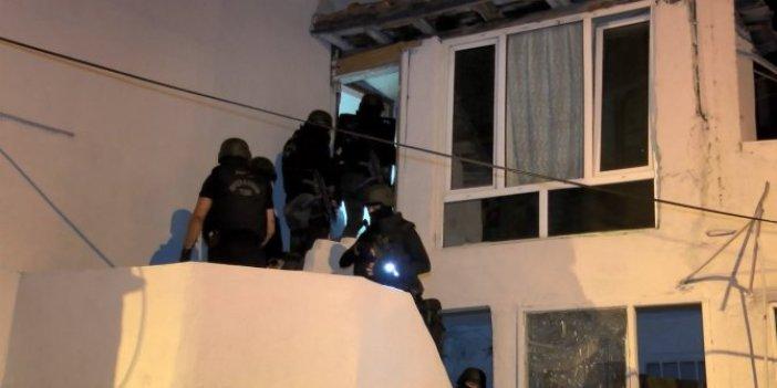Aralarında Afrin'den yurda kaçak yollardan girenler de var! İstanbul'da terör operasyonu