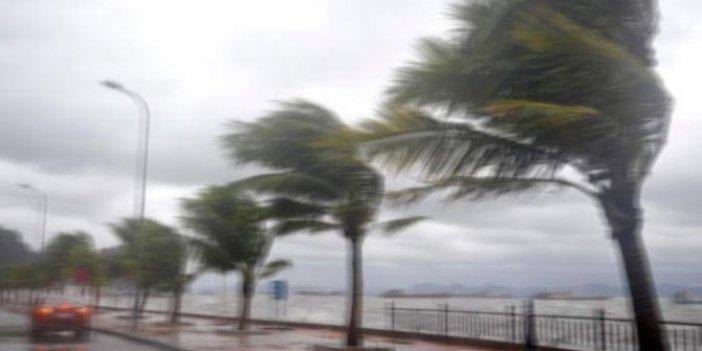 Meteoroloji uyardı. Bu illerde çatı uçması ağaç devrilmesi olabilir