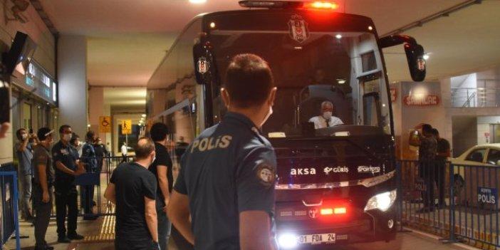 Beşiktaş kafilesi Konya'ya ulaştı