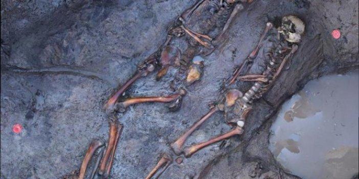 İskitlere ait mezarlar kazıldı... Mezardan çıkanlar Rus bilim insanlarını bile şaşırttı: Bakın nasıl ölmüşler