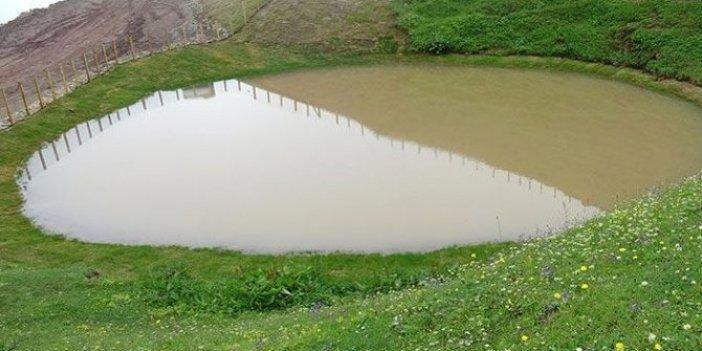 """Bir de """"Dipsiz Göl eski haline döndü"""" dediler"""