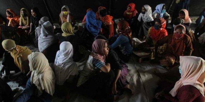 Arakanlı kadınlar açlık grevinde
