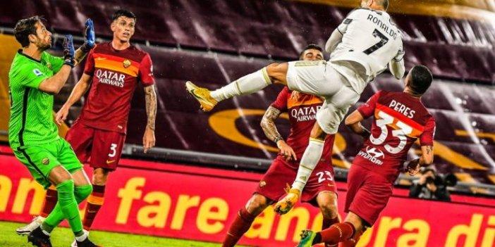 Juventus, deplasmanda Roma ile berabere kaldı
