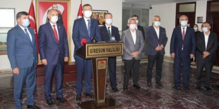 Milli Eğitim Bakanı Ziya Selçuk Giresun'da