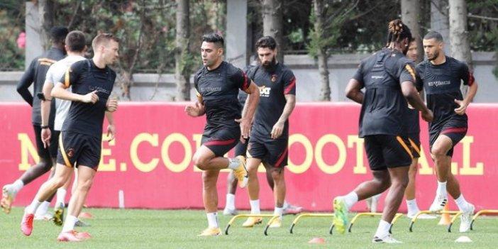 Galatasaray'da kıran kırana antrenman