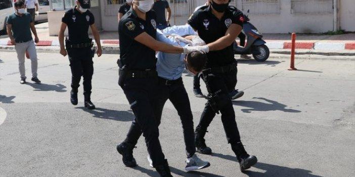 Hatay'da 10 suçtan aranan şahıs, Antalya'da yakalandı