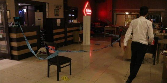 Kütahya'da restoran sahibi silahlı saldırıya uğradı