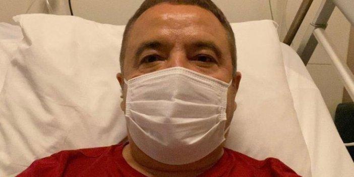 Korona tedavisi gören Antalya Büyükşehir Belediyesi Muhittin Böcek'ten sevindiren haber
