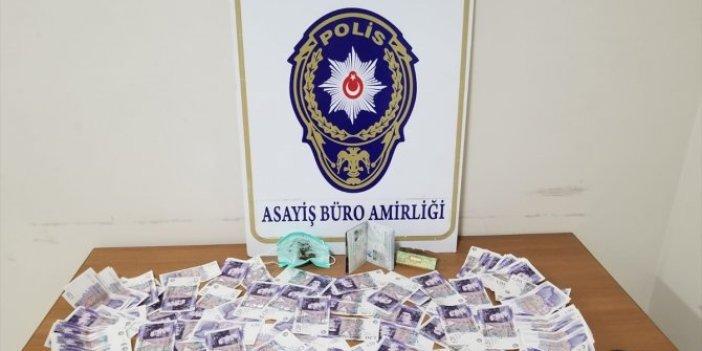 Marmaris'te sahte para taşıyan turist gözaltına alındı