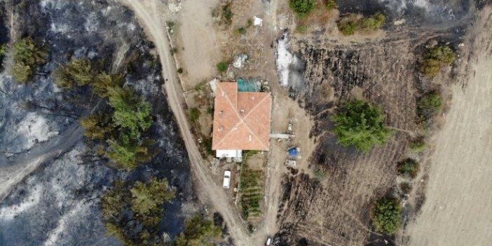 Manisa Gördes'te çıkan orman yangını kontrol altına alındı