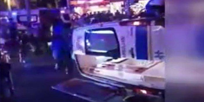 Muğla'da ambulans kamyonla çarpıştı! Yaralılar böyle kurtarıldı