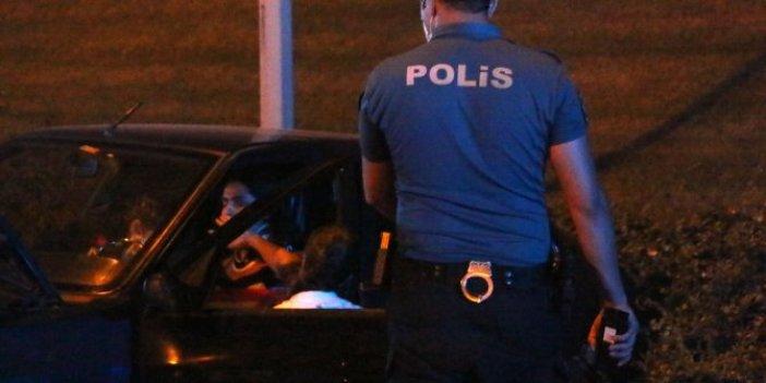 Test sürüşü değil gerçek! İstanbul'da feci kaza! Kadın sürücünün zor anları