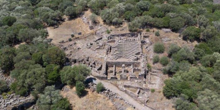 30 kilometre uzunluğunda, 2 bin yıllık. Manisa'da ortaya çıkarıldı