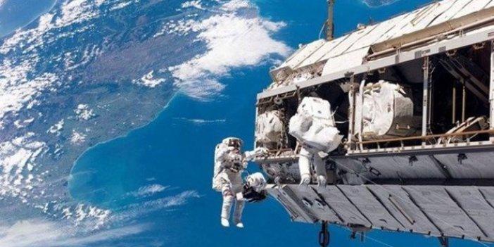 Uzay İstasyonunda büyük tehlike. Astronotlar canla başla çabalıyor
