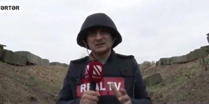 Şenol Güneş cepheden bildiriyor. Şenol Güneş'e aşırı benzeyen savaş muhabiri sosyal medyayı yıktı geçti