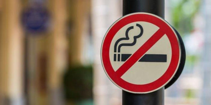Valilik resmen duyurdu. Sigara içmek yasaklandı