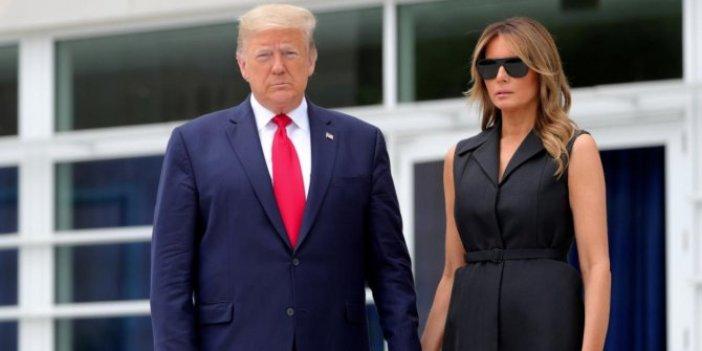 Beyaz Saray'dan Trump çiftinin sağlık durumuna ilişkin flaş açıklama