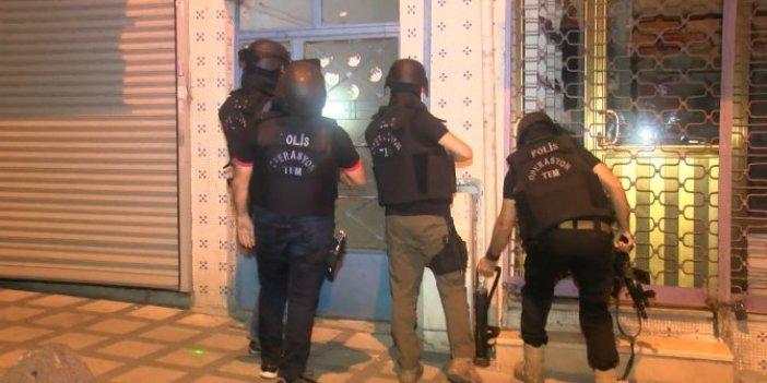 İstanbul'da hücre evlerine baskın!