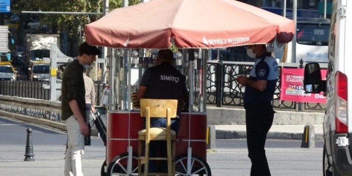 İBB'den Taksim ve İstiklal'deki simit tezgahlarının kaldırılmasına ilişkin açıklama