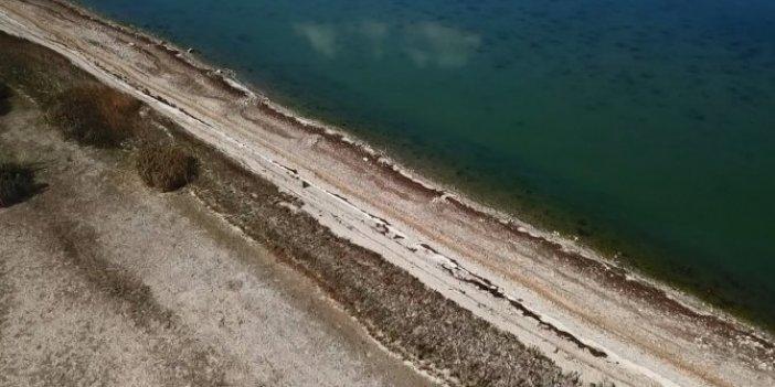 Arkeologlar uzun yıllar burada çalıştı. Sular çekilince gün yüzüne çıktı