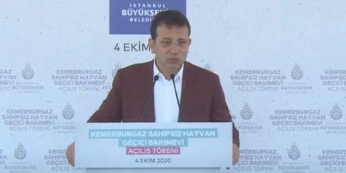 İBB Başkanı Ekrem İmamoğlu en büyük muhalefetini açıkladı