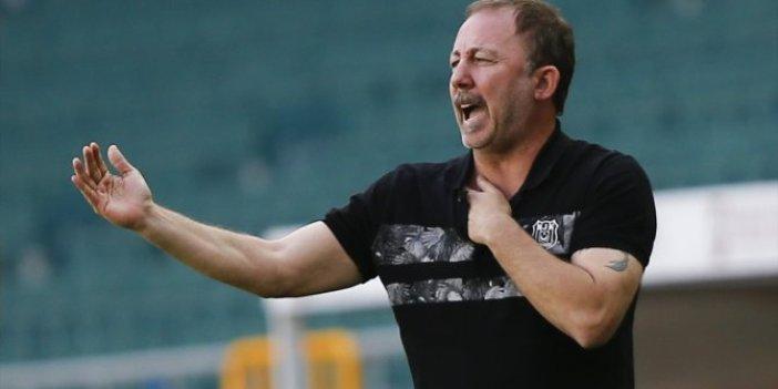 Beşiktaş teknik direktörü Sergen Yalçın'dan Gençlerbirliği maçı sonrası çarpıcı açıklamaları