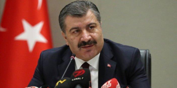 Sağlık Bakanı Koca, virüste son durumu açıkladı