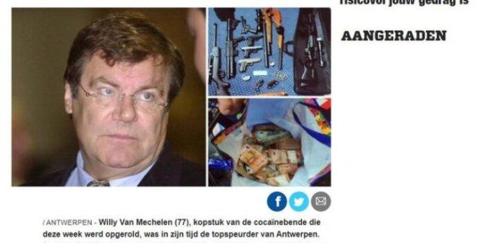 Belçika'nın gözü kara süper polisiydi! 325 milyon euroluk kokain kaçıran çetenin lideri çıktı
